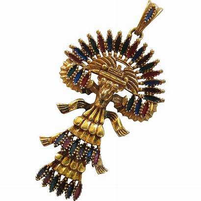 Aztec Mayan Castlecliff Bird Quetzel Vrba Larry