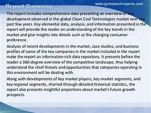 Analysis of global clean coal technologies market size ...