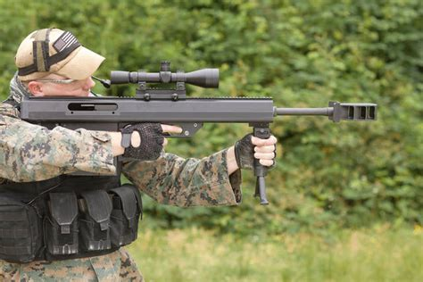 Auto 50 Bmg by Leader 50 50 Bmg Semi Auto Bullpup Rifle The Firearm