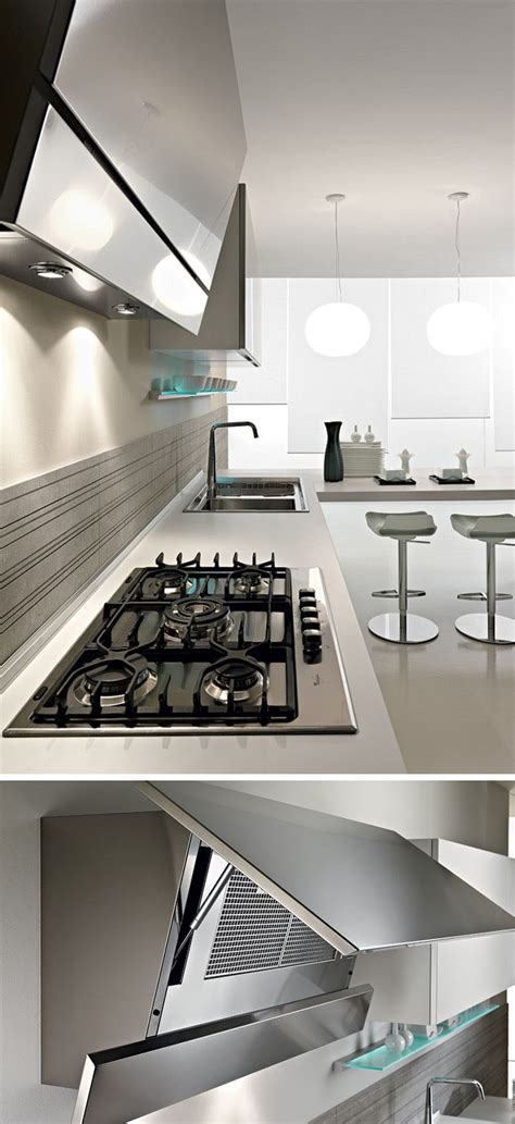 Kitchen Design Idea   Hide The Range Hood   CONTEMPORIST