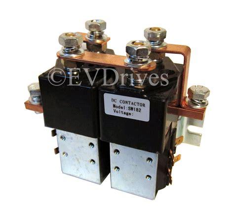 albright sw182 style reversing contactor solenoid 48v ebay