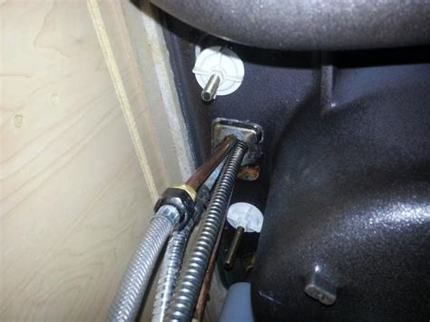 replace delta faucet sprayer hose hole  sink  tight