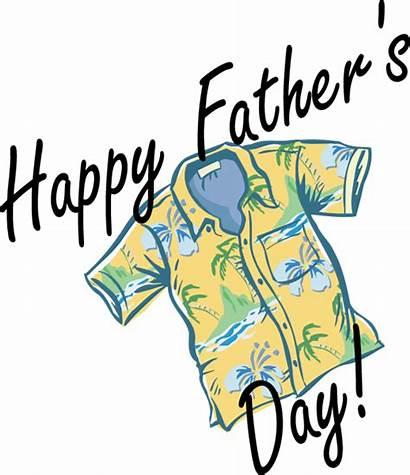 Fathers Father Clip Clipart Hawaiian Shirt Happy