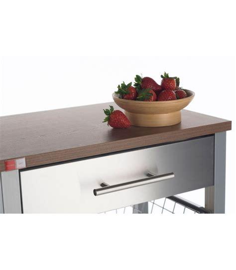 table desserte cuisine desserte de cuisine en aluminium et bois wadiga com