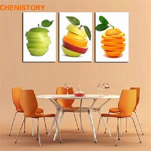 Unframed 3pcs modern canvas art fruit oil painting for for Best brand of paint for kitchen cabinets with cheap contemporary wall art