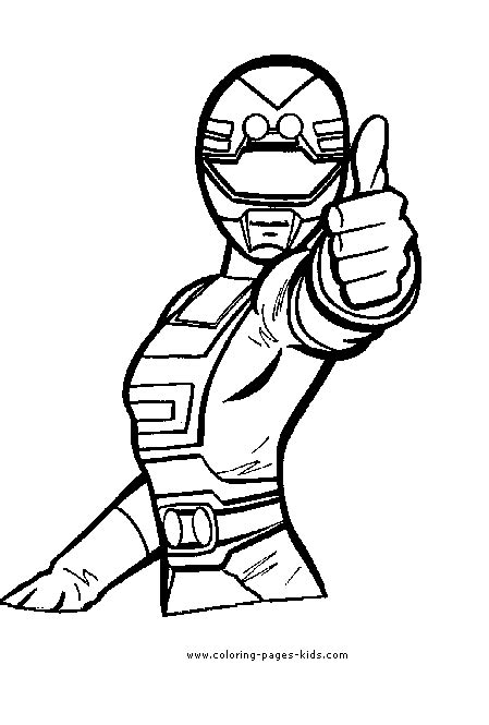 power rangers color page coloring pages  kids cartoon characters coloring pages
