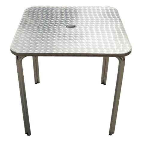 picnic table with umbrella hole aluminum patio table with umbrella hole