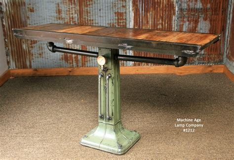 Steampunk Industrial Table Console Coffee Pub 1212