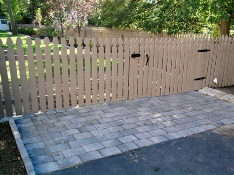 removable fence section custom gate  yard access