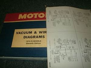 1975 1976 Ford Granada Mercury Monarch Wiring Diagrams