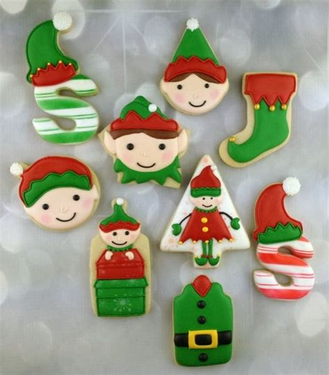 images  elf cookies  pinterest christmas