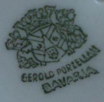 Bavaria Porzellan Wert : gerold porzellan marks ~ Udekor.club Haus und Dekorationen
