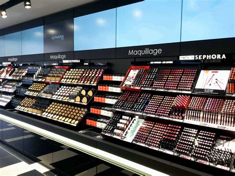 si鑒e sephora dé maquillages beauté sephora flash le magasin connecte