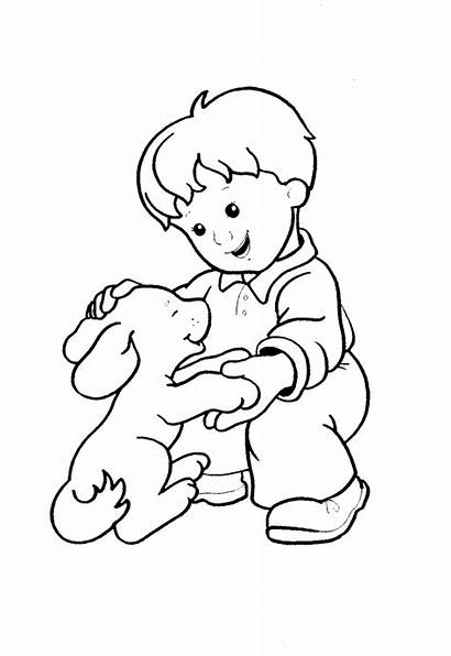 Coloring Pages Boy Colouring Boys Children Popular