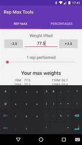 Rep Max Tools - 1rm Calculator