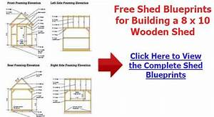Storage Building Plans 10 X 12 Plans DIY Free Download