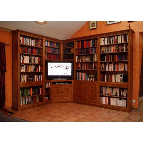 cachee bureau bibliothèque d 39 angle meubles de normandie