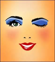Winking Eye Clip Art