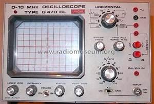 Oscilloscopio G470 Bl Equipment Unaohm Start S R L  Ohm