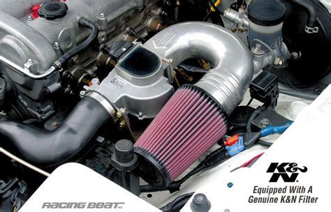 high flow air intake kit    miata racing beat