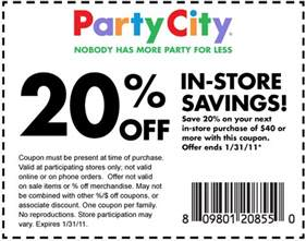 free printable city coupon october 2017