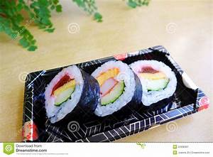Take Out Sushi Snack Platter Stock Photo - Image: 53308361