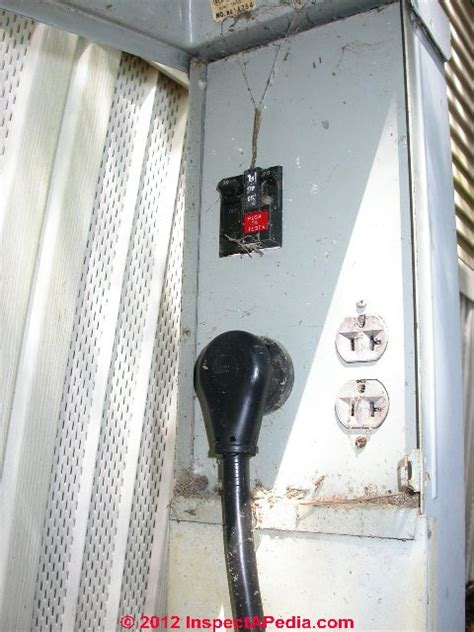 mobile home electrical inspection guide   inspect