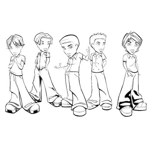 disegni di ragazzi da colorare disegno di bratz ragazzi da colorare per bambini