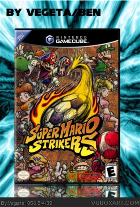 super mario strikers gamecube box art cover  vegeta