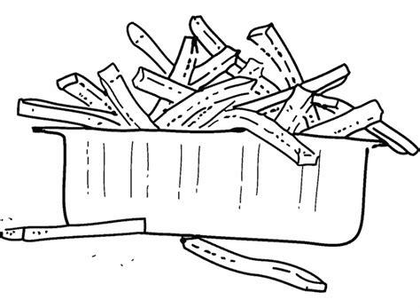 cuisine dessin dessin frite