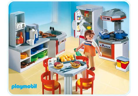 cuisine playmobil kitchen with dinnette set 4283 a playmobil