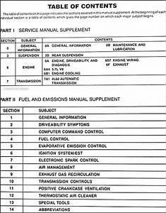 1992 Gmc Sierra Natural Gas Repair Shop Manual Original