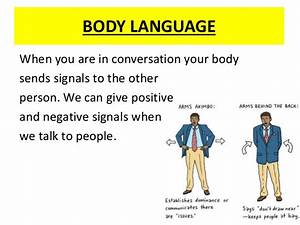 Communication Body Language & Facial Expressions