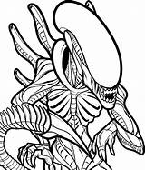 Alien Coloring Pages Printable Classic Predator Vs Categories sketch template
