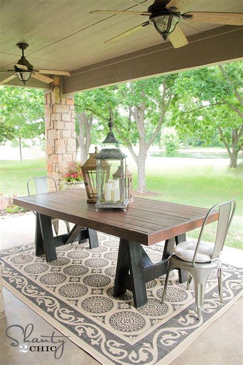 diy dining table ideas build   table pottery barn inspired  diy table