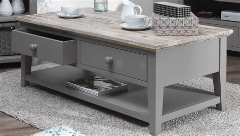 Grey Wood Coffee Table Creation Thelightlaughedcom