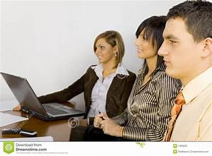 Young Business People At Work Royalty Free Stock Photo ...
