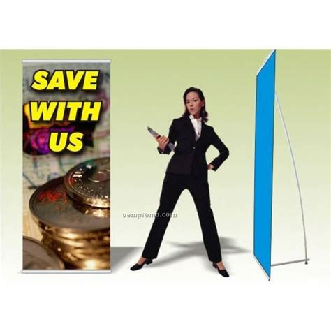 the l stand coupon promo banner w l stand 31 5 quot x 80 quot china wholesale