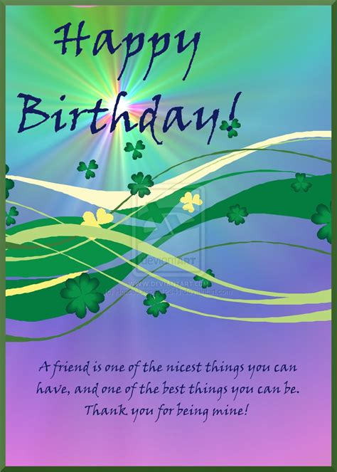 Happy Birthday Wishes Irish Blessing