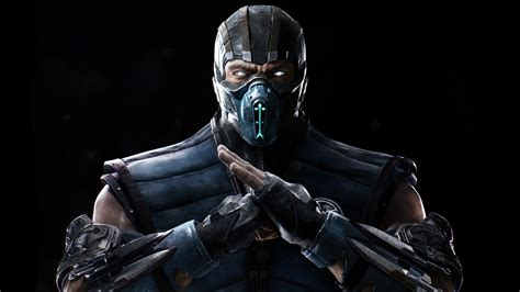 Mortal Kombat X Sub Zero 4k 5k Wallpapers Hd Wallpapers