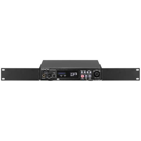 rack mount digital recorder denon dn f450r rackmount solid state digital audio dn