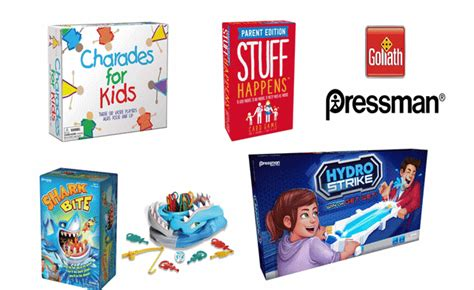 review giveaway pressman  goliath games summer