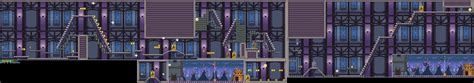 New Super Mario Bros Ds Ghost House Tileset