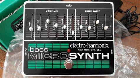 electro harmonix micro synth sound templates electro harmonix bass micro synth image 2074696