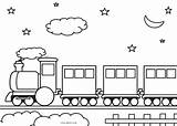 Train Coloring Pages Printable Track Trains Sheets Cool2bkids Template Sheet Locomotive Preschool Books Boys Easy Truck sketch template