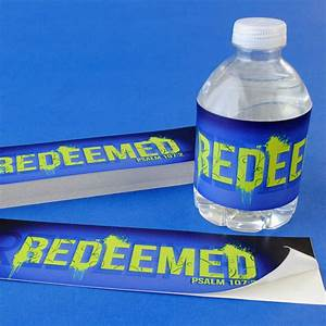 getting the word out about your nonprofit the easy way With church water bottle labels