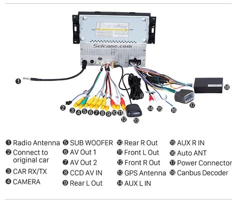 2008 Jeep Compas Radio Wiring Diagram hd touch screen auto a v gps navigation system for 2006