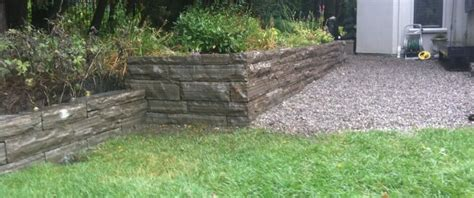 retaining wall cost estimate natural stone retaining walls