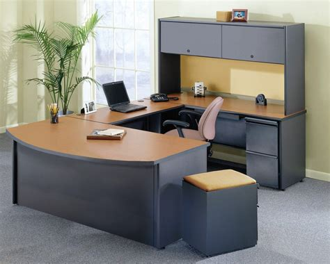 Office Tables Design Black Leather Wheeled Ergonomic Chair