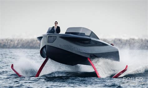 foiler flying yacht  coolector